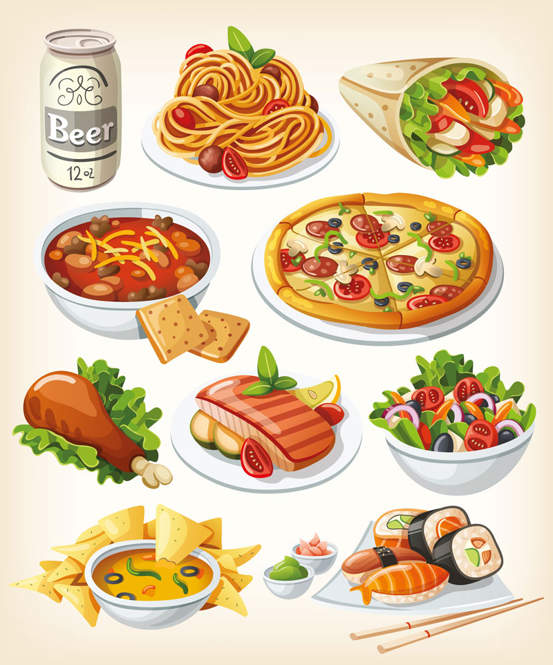 International Food Clip Art