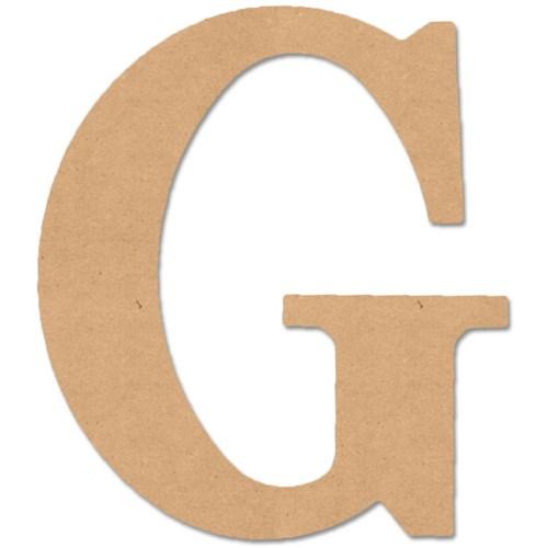 Large Font Letter G