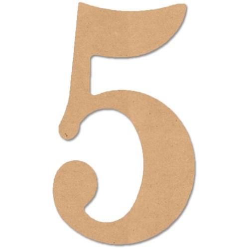 Large Number Fonts