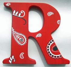 Letter R Font Styles