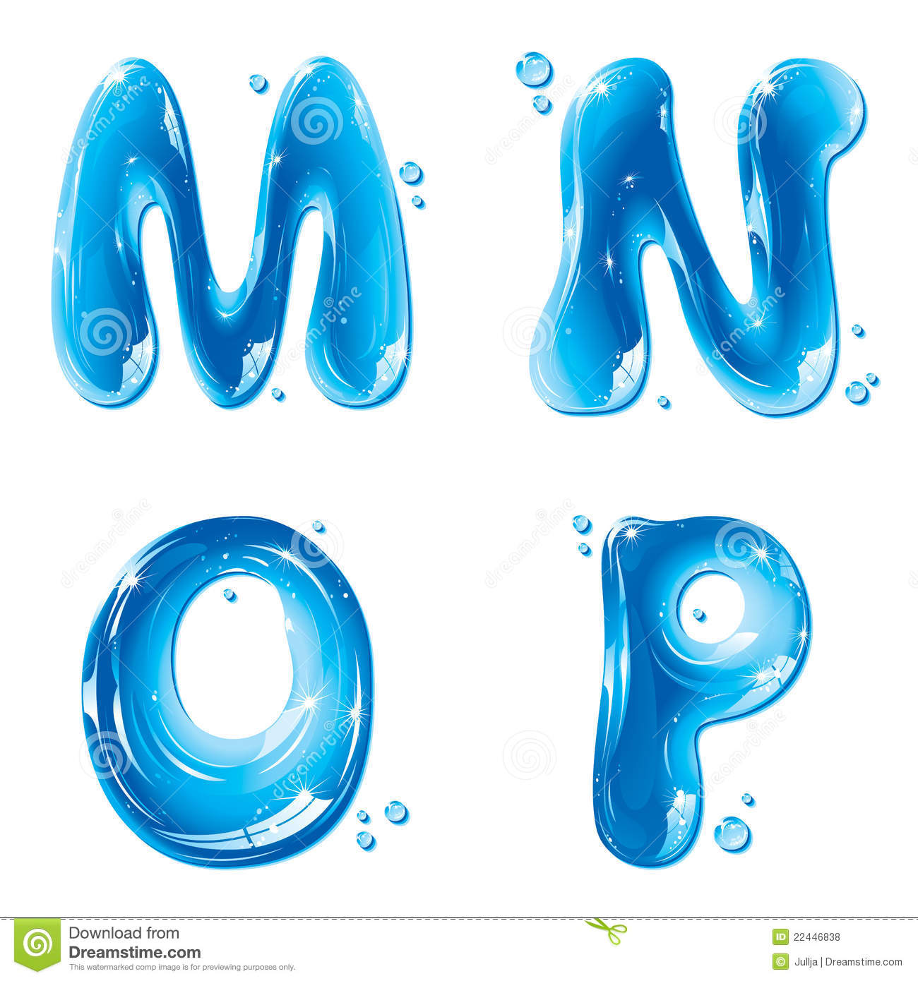 14 Liquid Water Letters Design Images - Liquid Water ...