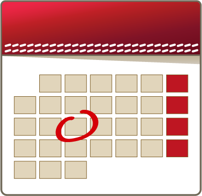 Medical Appointment Calendar Icon