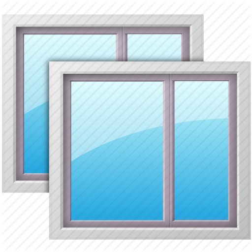 Transparent Glass Window : Microsoft glass icons png images word