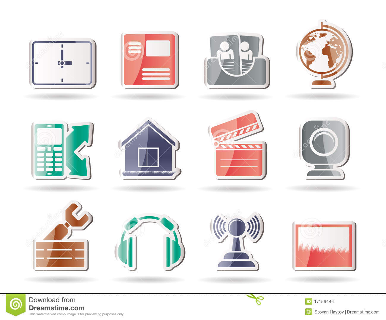 Mobile Phone Computer Icons