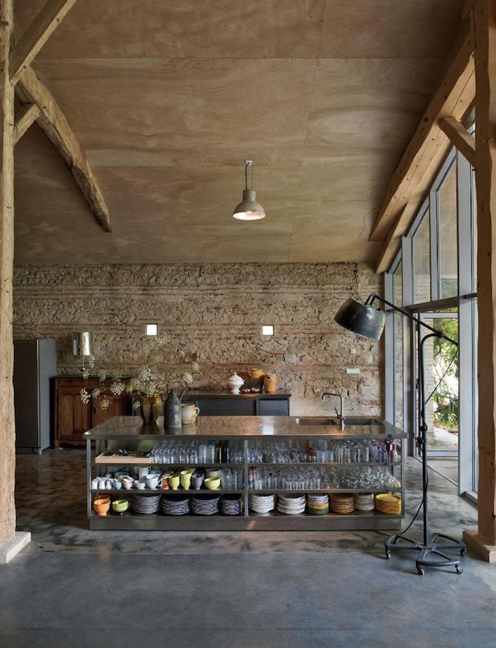 Modern Rustic Industrial Kitchen Design
