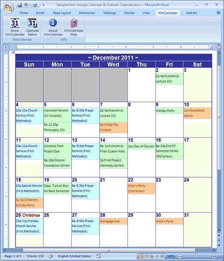 6 week calendar template friends and relatives records