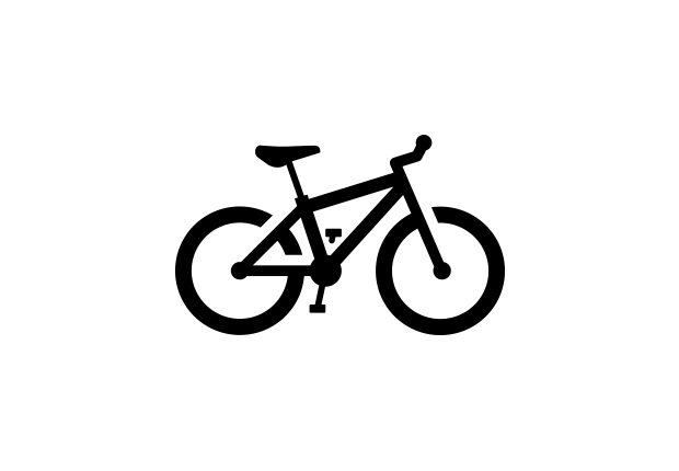 5 Bicycle Icon Vector Images