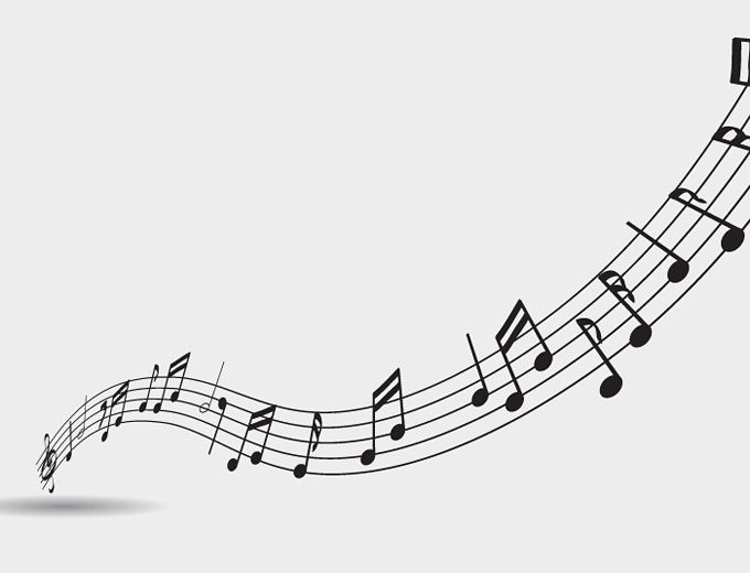 13 Transparent Music Notes Vector Images