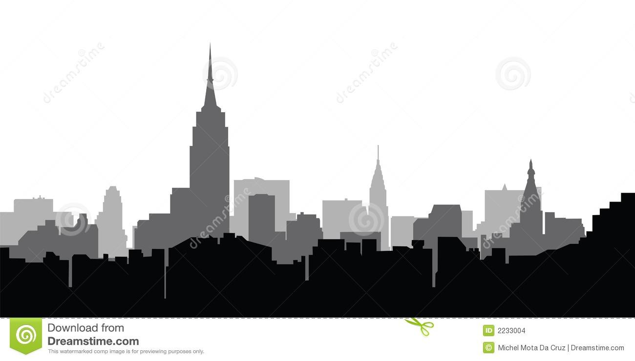 11 New York City Skyline Vector Images New York City Skyline
