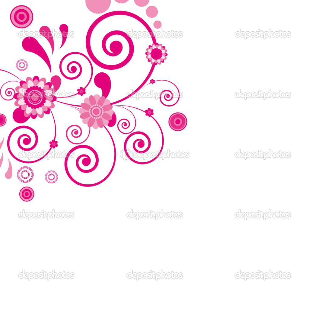 Pink Flowers Floral Design
