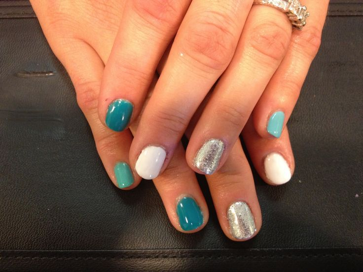 Solid Color Nail Art Spring
