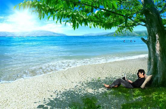Sunshine Beach People
