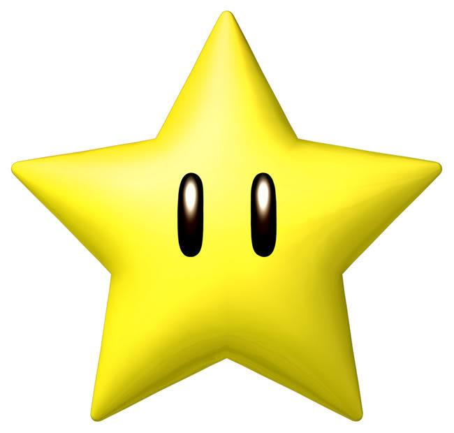 Super Mario Brothers Star Clip Art