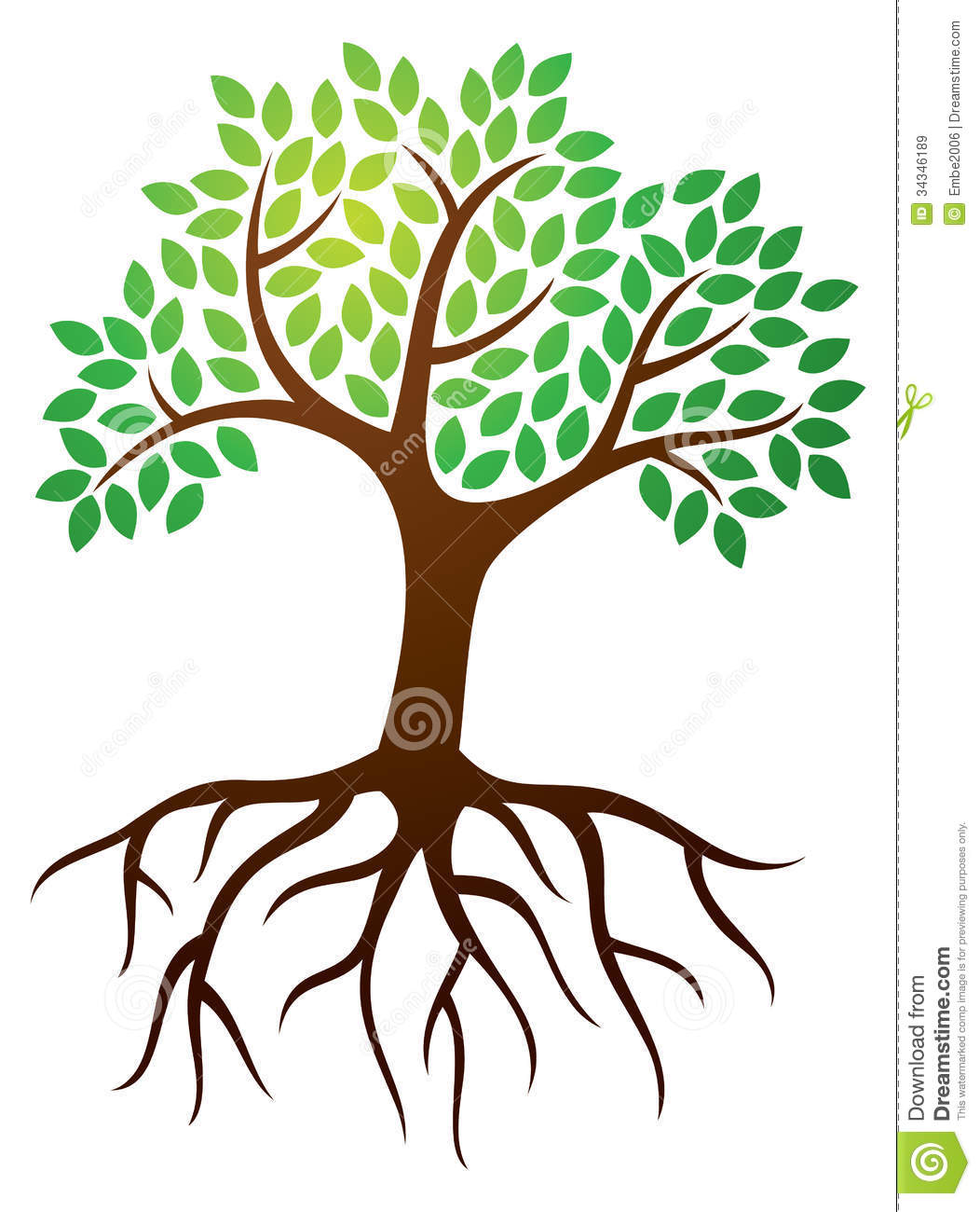 14 Tree With Roots Icon Images