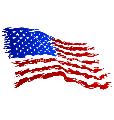 USA Flag Vector Art