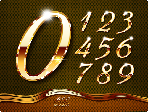 Vector Graphic Free Gold Fonts