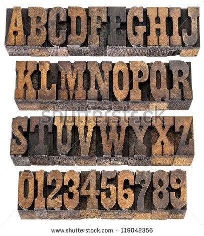 Vintage Block Letter Font