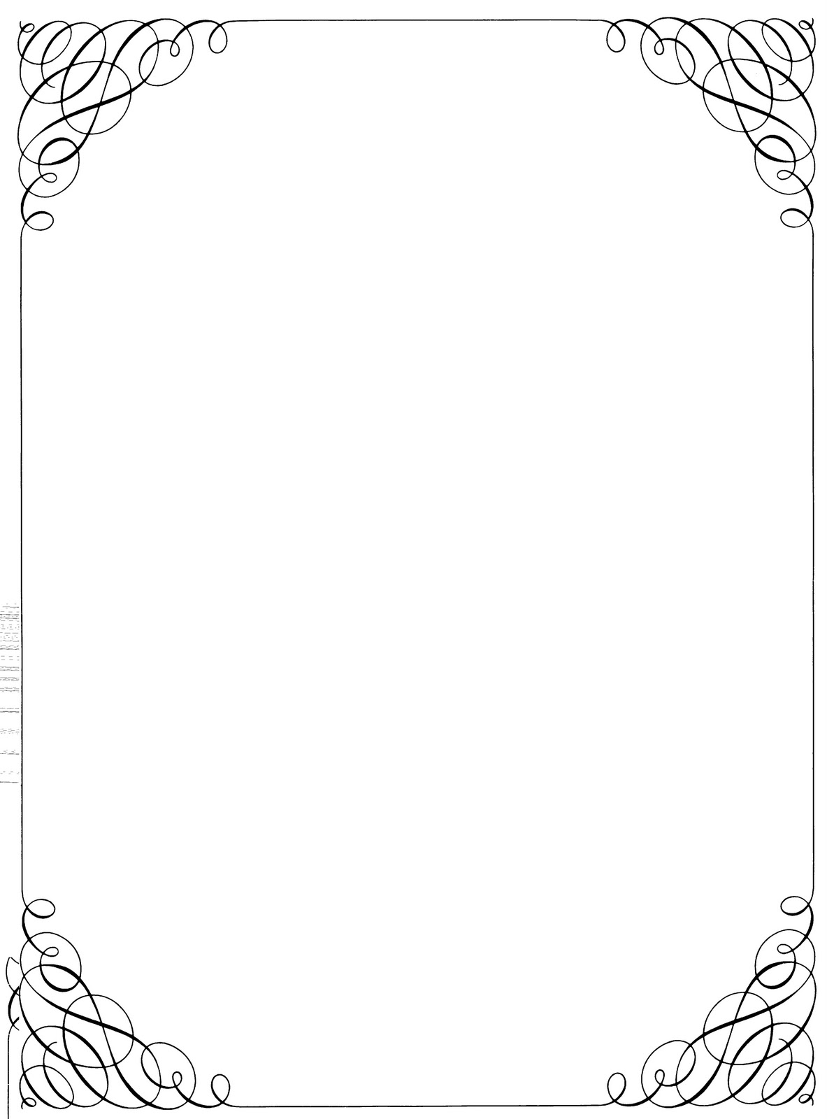 Vintage Borders and Frames Clip Art