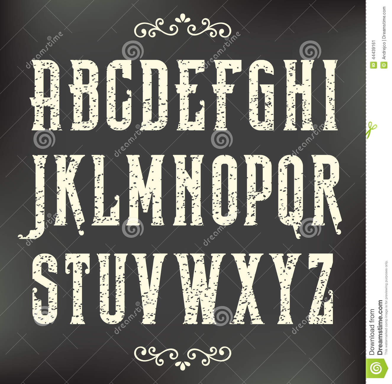 Vintage Grunge Fonts