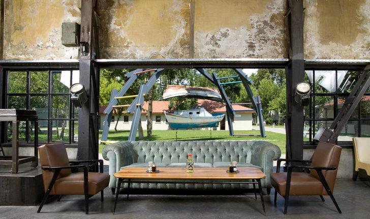 Vintage Rustic Industrial Interior Design