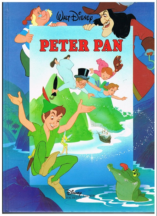 Walt Disney Peter Pan Book