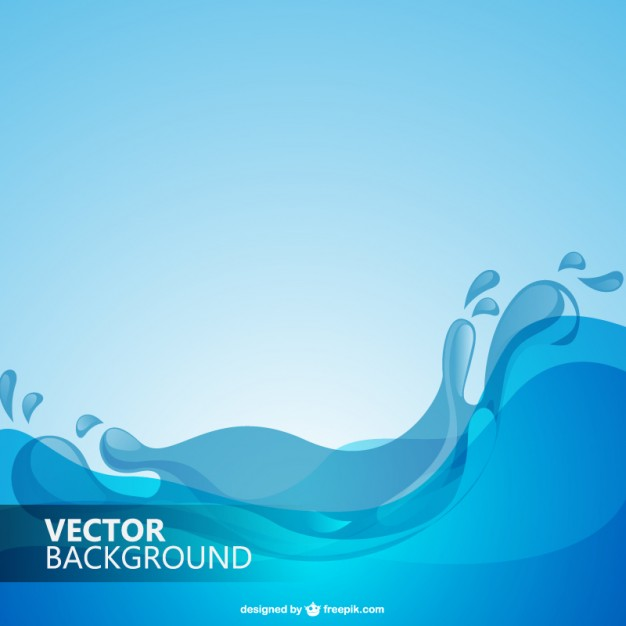 Water Waves Vector Free