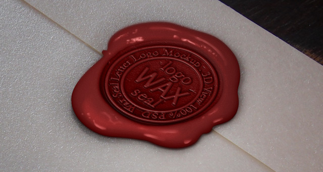 12 Wax Seal PSD Images
