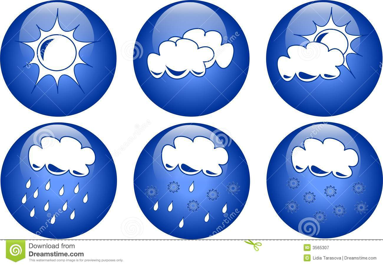 Weather Icon Blue