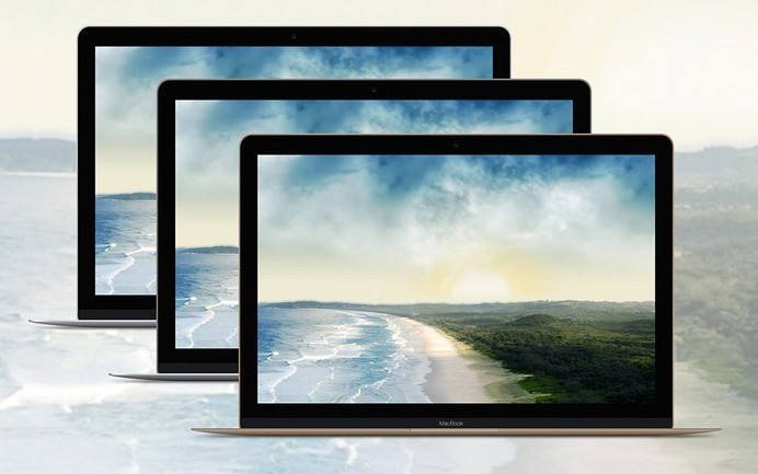 2015 Apple MacBook Pro Template