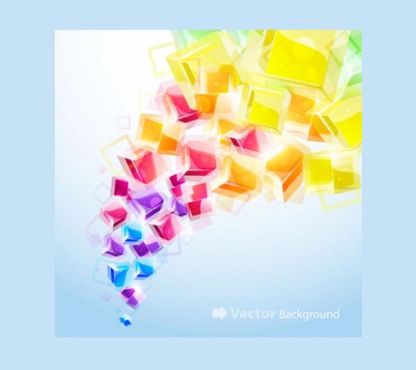 3D Abstract Vector Wallpaper