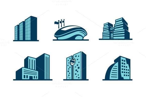 3D Building Icon