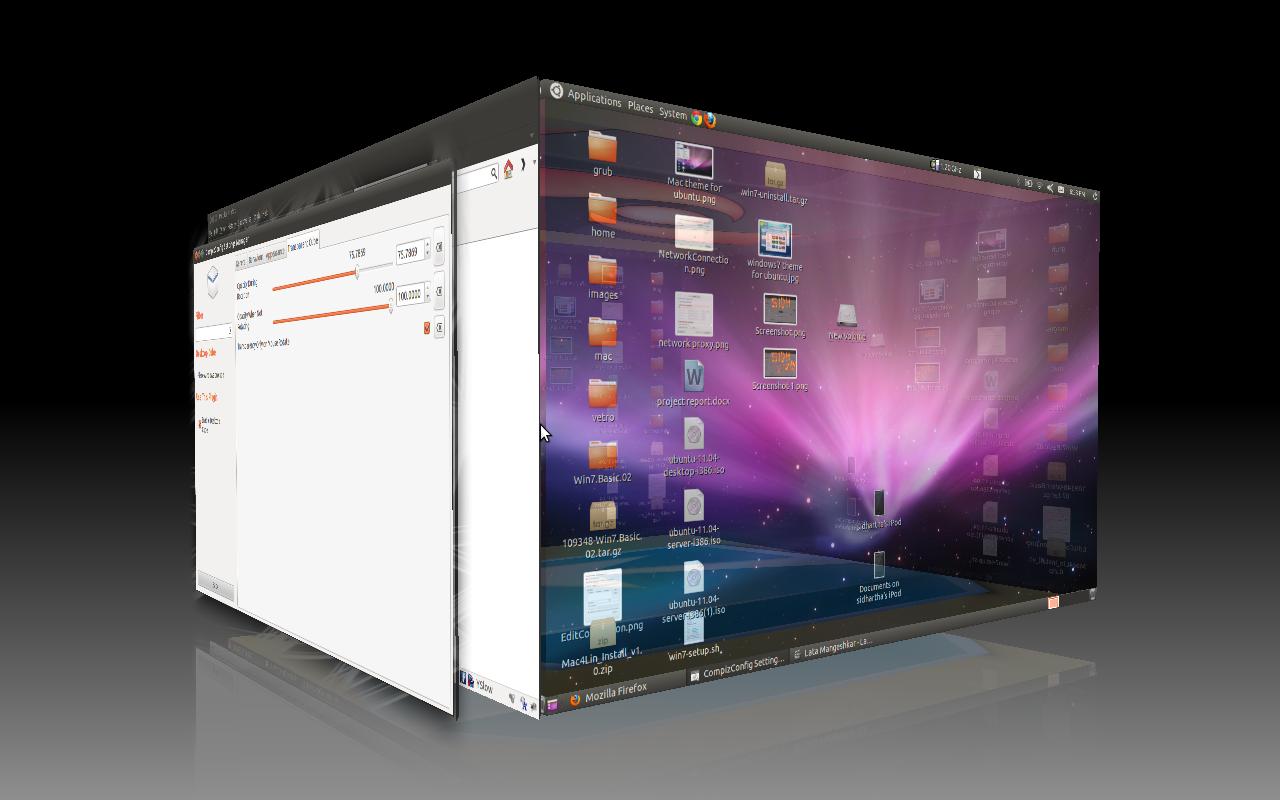 3D Cube Virtual Desktop