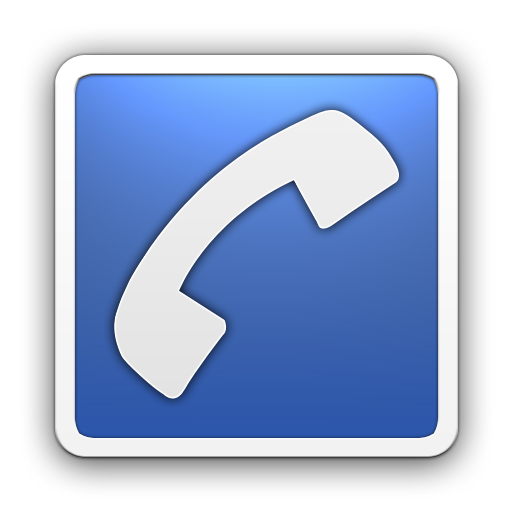 10 Blue Contact Card Icon Images