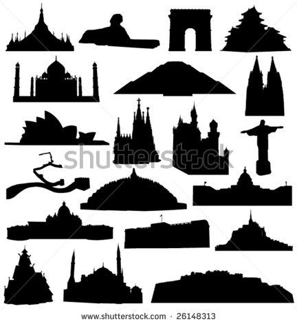Architecture Silhouette Vector