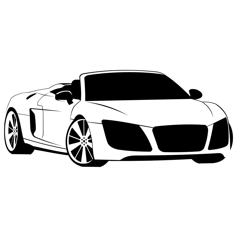 Audi R8 Clip Art
