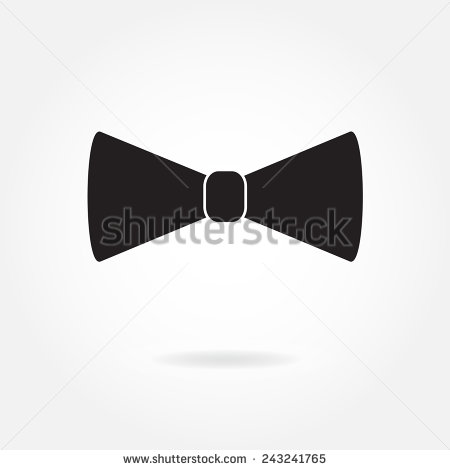 Background Black Bow Tie Logos
