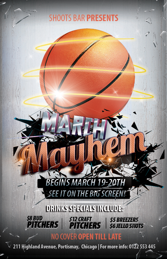 13 Free Basketball Flyer PSD Images