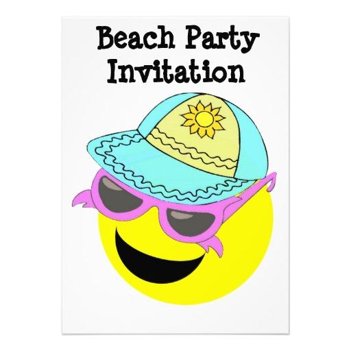 Beach Smileys Emoticons