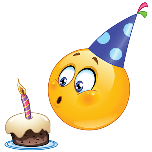 9 Birthday Emoticons And Symbols Images