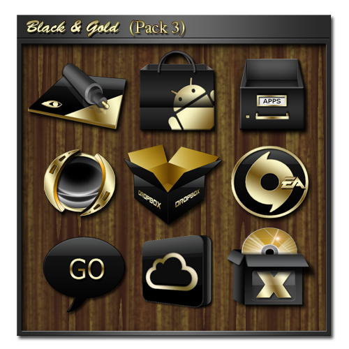12 Alert Icon Black And Gold Images