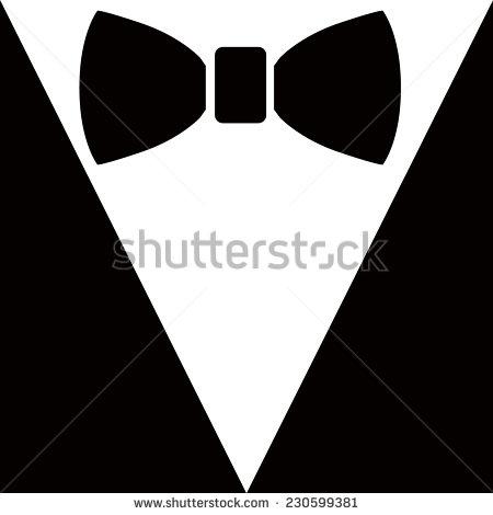 Black Bow Tie Illustrations
