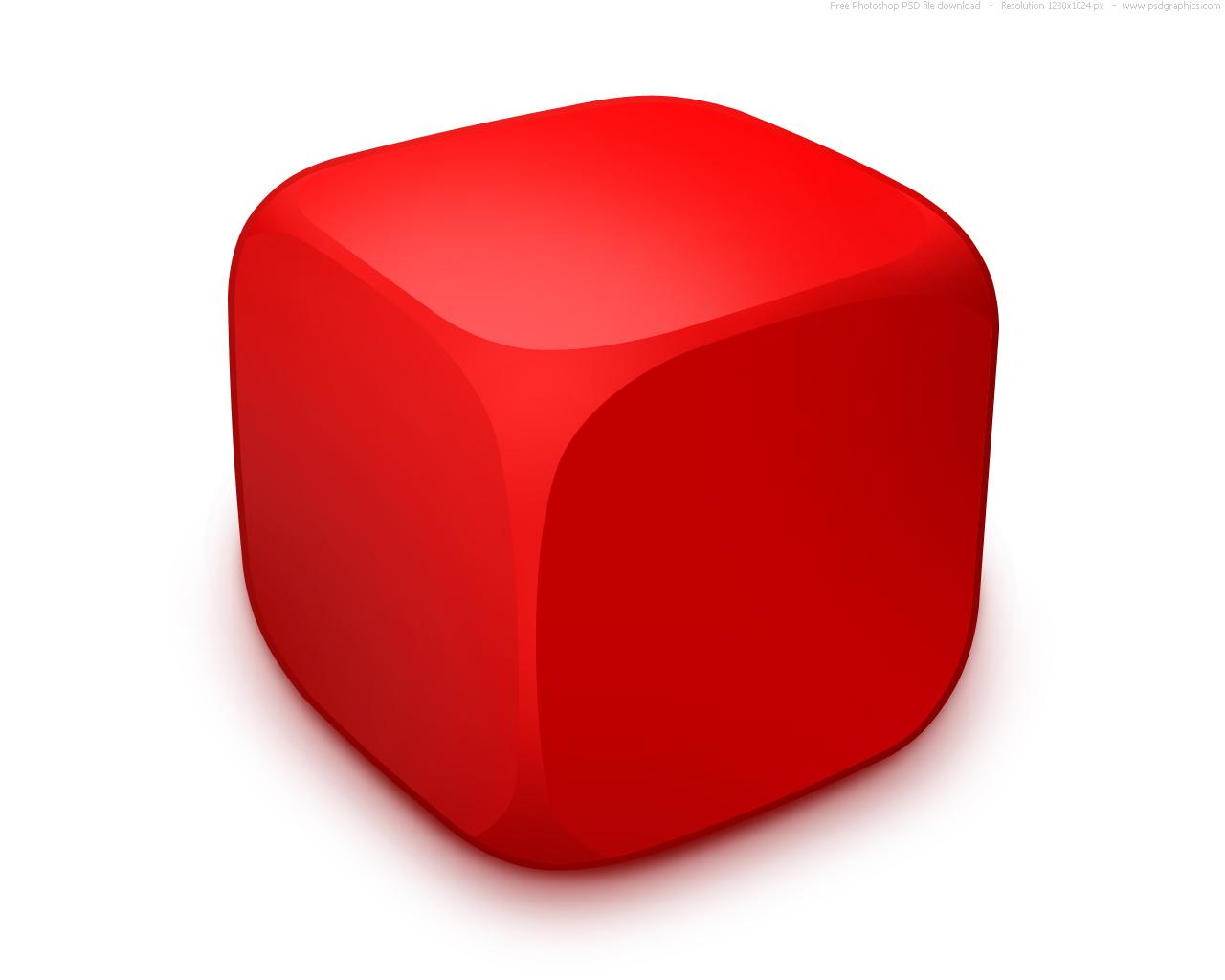 Blank Dice Cubes