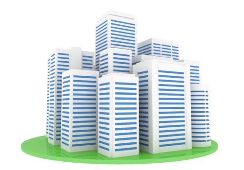 Business Building Clip Art