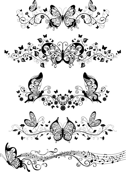 Butterfly Patterns and Designs