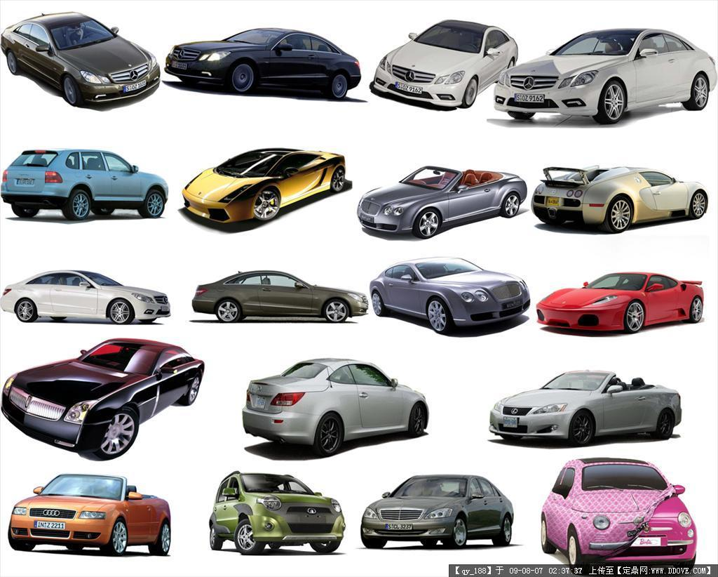 16 Nice Cars PSD Images