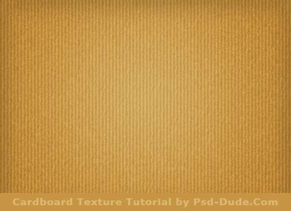 Cardboard Texture Photoshop Tutorial