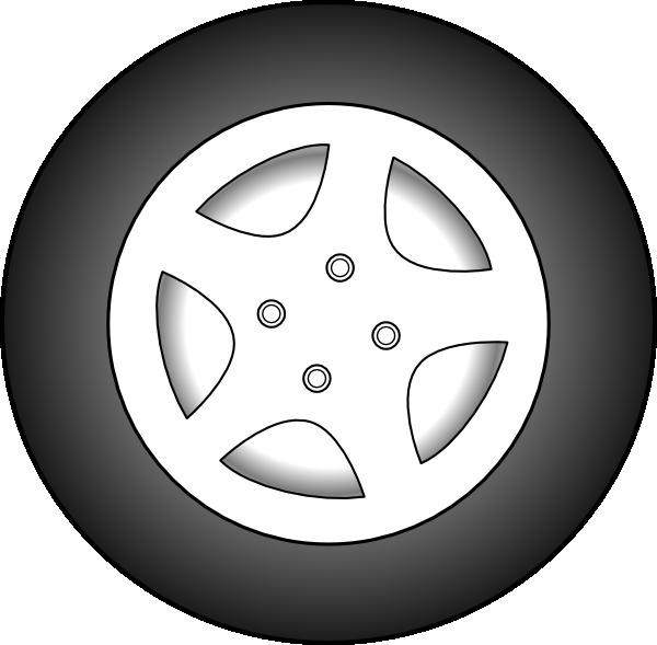 17 Car Rims Clip Art Vector Images