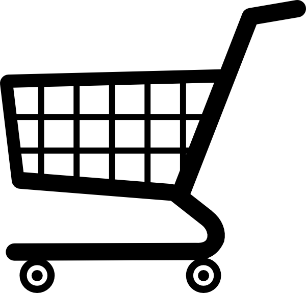 Cartoon Shopping Cart Clip Art