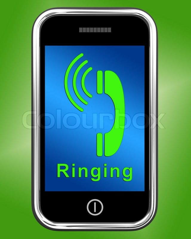 10 Cell Phone Ringing Icon Images
