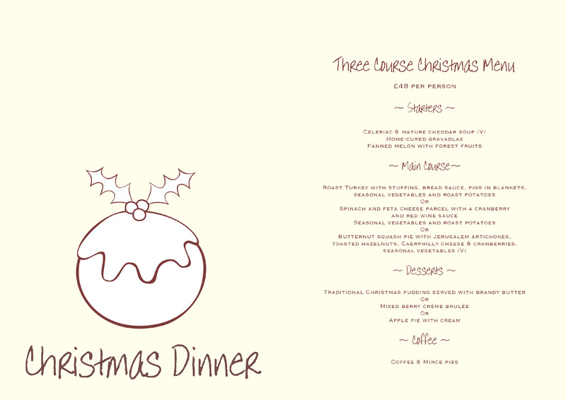14 Dinner Menu Templates Free Images Printable Weekly
